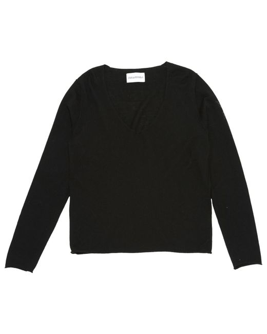 Lyst Voltaire Knitwear In Wool Black Zadig amp; SxqRH