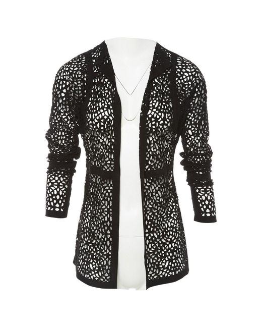 Marni Black Suede Jacket
