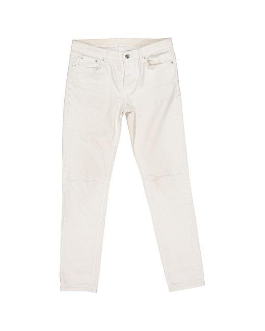 BLK DNM White Skinny Jeans