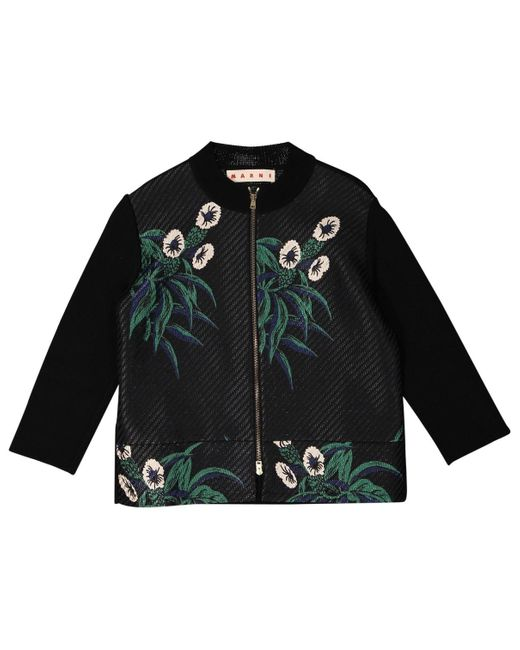 Marni Black Cotton Jacket