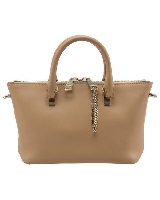 Chloé Yellow Leather Handbag
