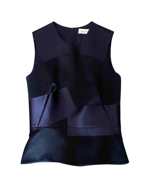 Victoria Beckham Camiseta de mujer de color azul o6wy5