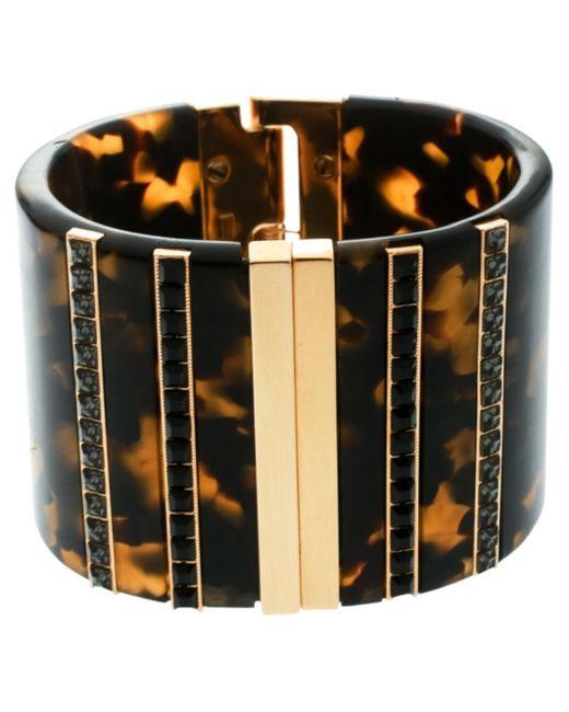 Etro Metallic Gold Metal Bracelet