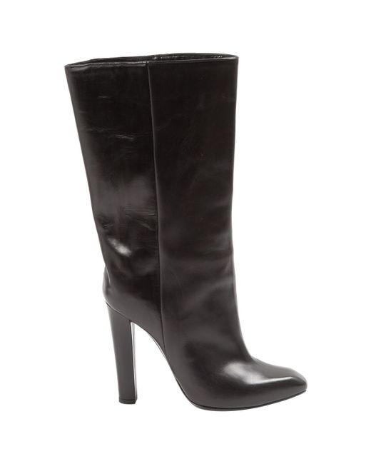 Alexander Wang - Black Leather Boots - Lyst