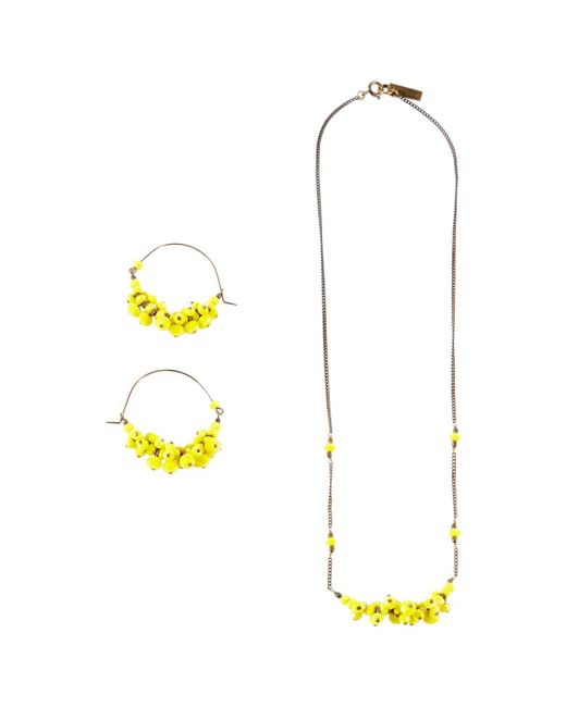 Isabel Marant | Yellow Pre-owned Pearls Jewellery Set | Lyst