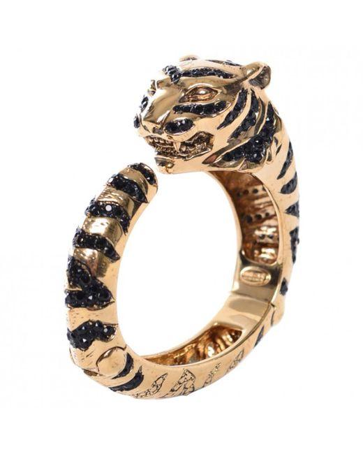 Roberto Cavalli   Metallic Pre-owned Gold Metal Bracelet   Lyst