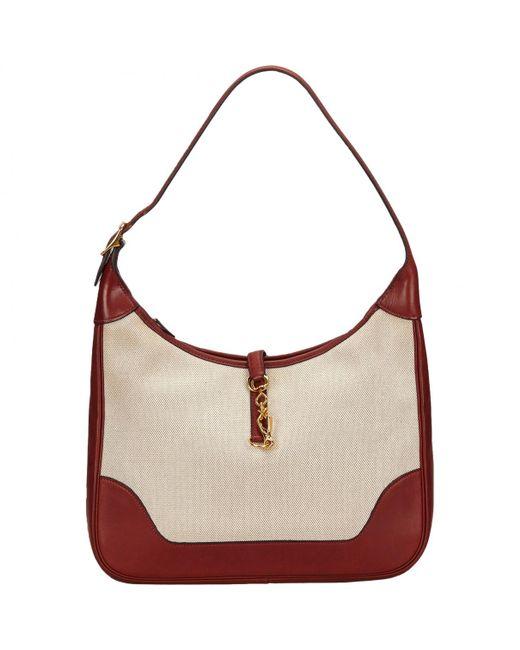 Hermès | White Trim Handbag | Lyst