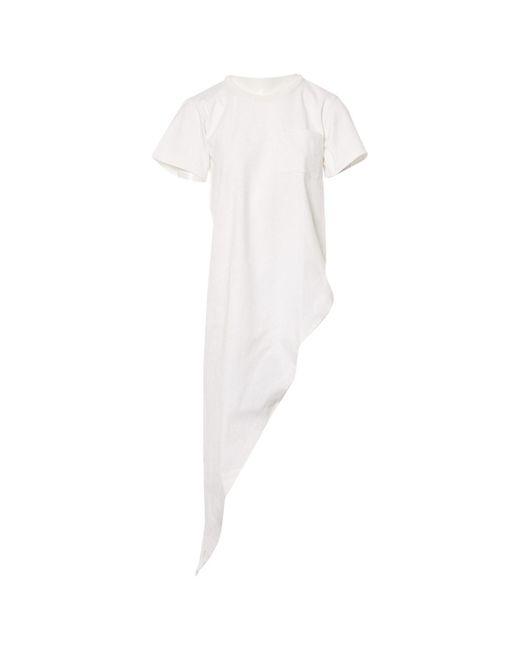 Maison Margiela White Cotton Top