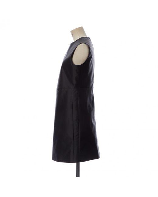 Céline Black Midi kleid