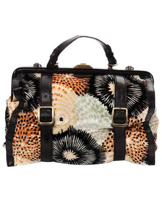 Missoni - Multicolor Velvet Handbag - Lyst