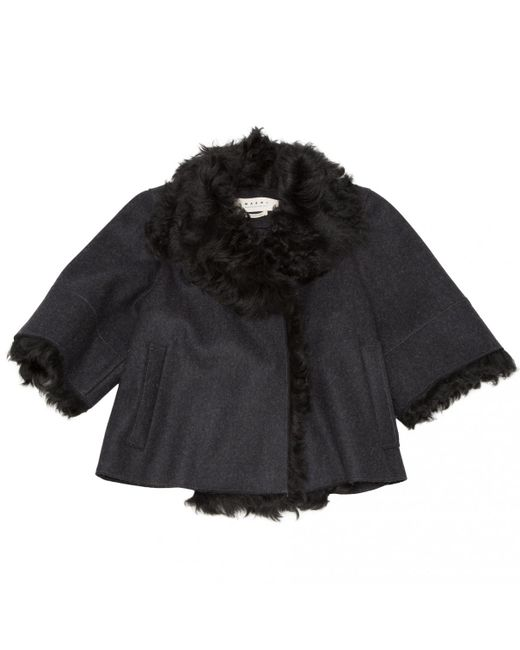 Marni - Black Anthracite Wool Jacket - Lyst