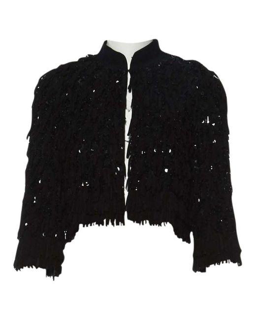 Chaqueta en seda negro \N Emilio Pucci de color Black