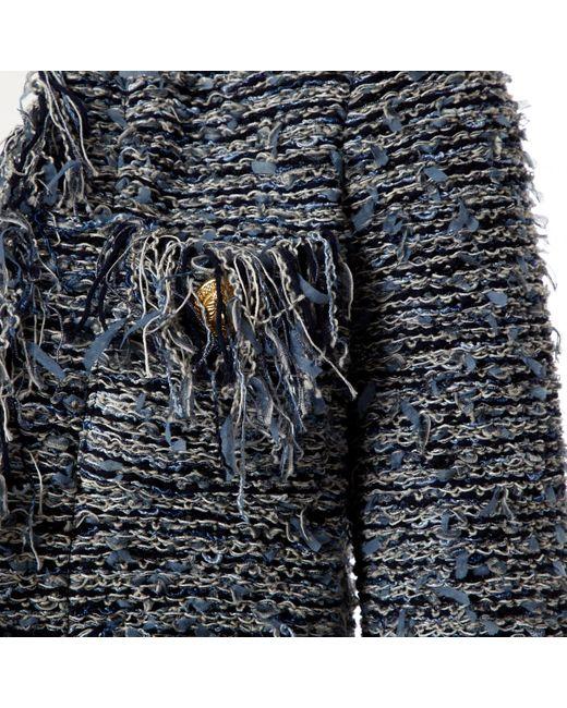 Vest \N en Synthétique Bleu Balmain en coloris Blue