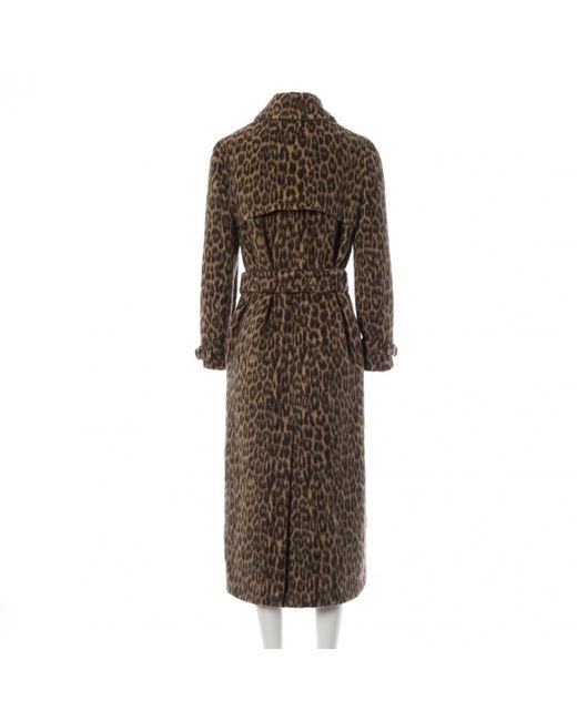 Max Mara Brown Wolle mäntel