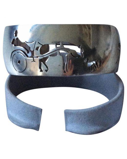 Hermès - Metallic Pre-owned Vintage Silver Silver Bracelets - Lyst