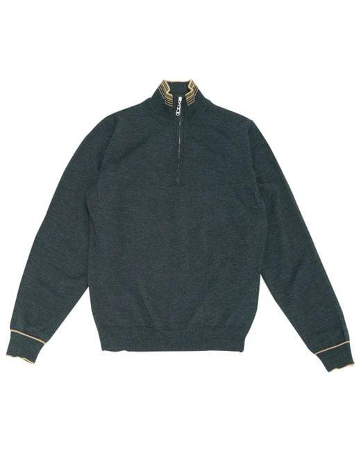 Lanvin Gray Grey Wool for men