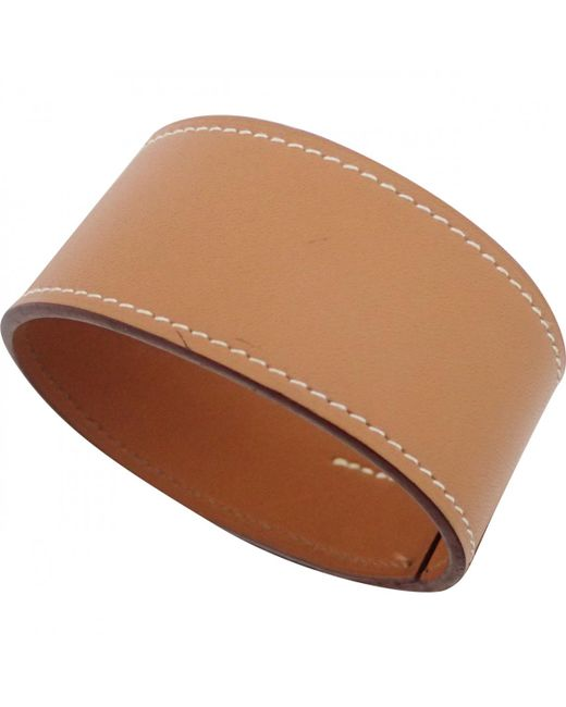 Hermès - Brown Leather Jewellery for Men - Lyst