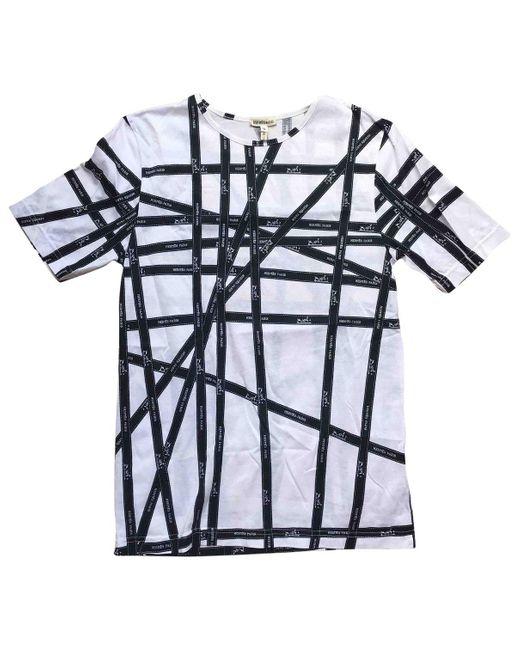 Hermès Camiseta de mujer de color blanco qbWYt