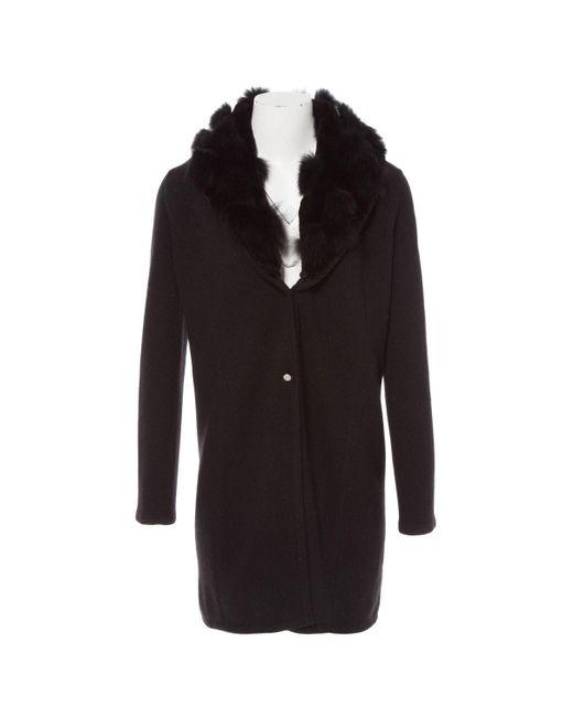 Versace Black Wool