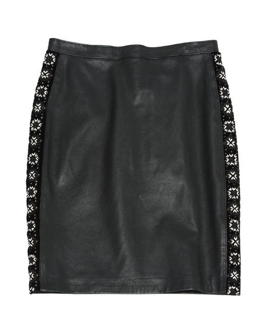 The Kooples Black Leather