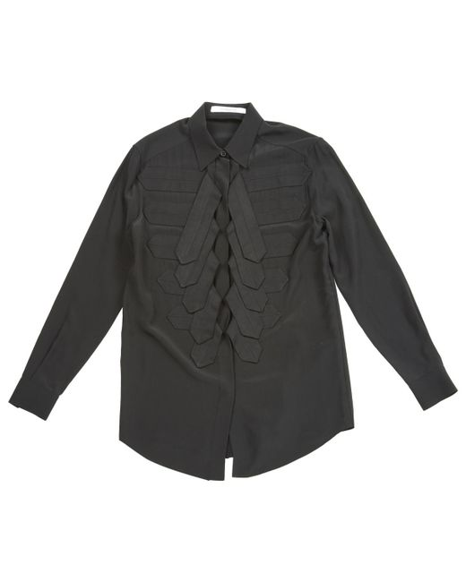 Givenchy | Black Pre-owned Silk Shirt | Lyst