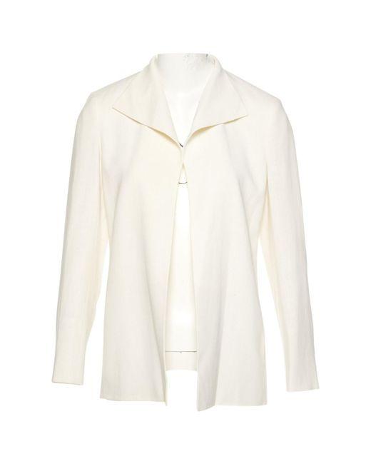 Hermès - Natural Pre-owned Linen Jacket - Lyst