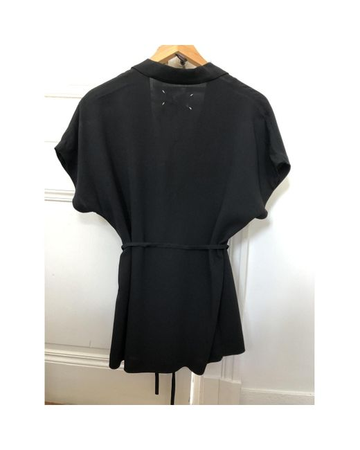 Maison Margiela Camisa de mujer de color negro g6GKh