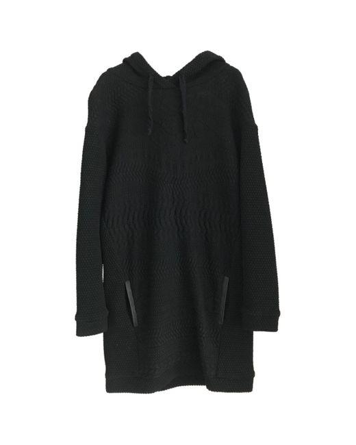 Maje Vestido midi de mujer de color negro