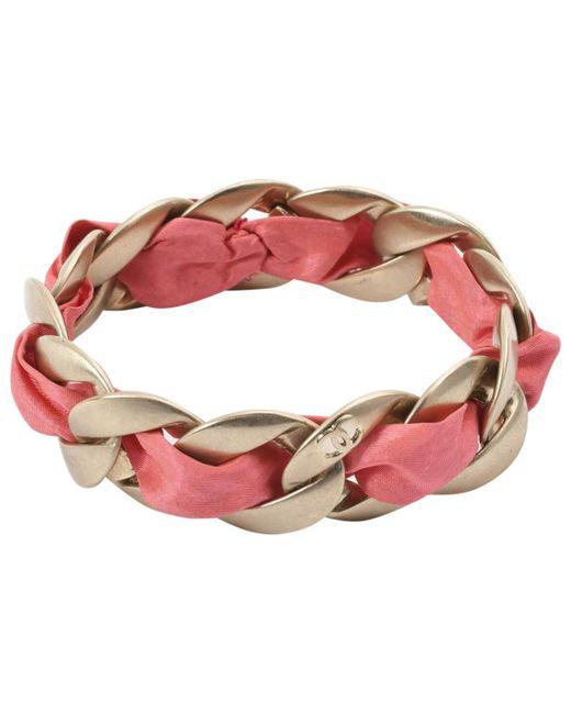 Chanel - Metallic Gold Metal Bracelets - Lyst