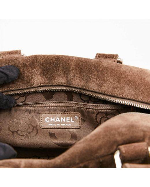 Chanel Brown Handtaschen