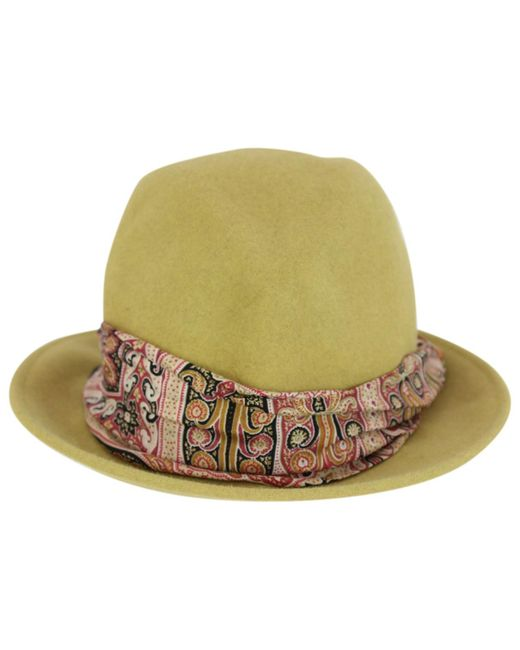 Etro - Pre-owned Green Rabbit Hats - Lyst