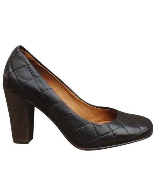 A.P.C. Black Leather