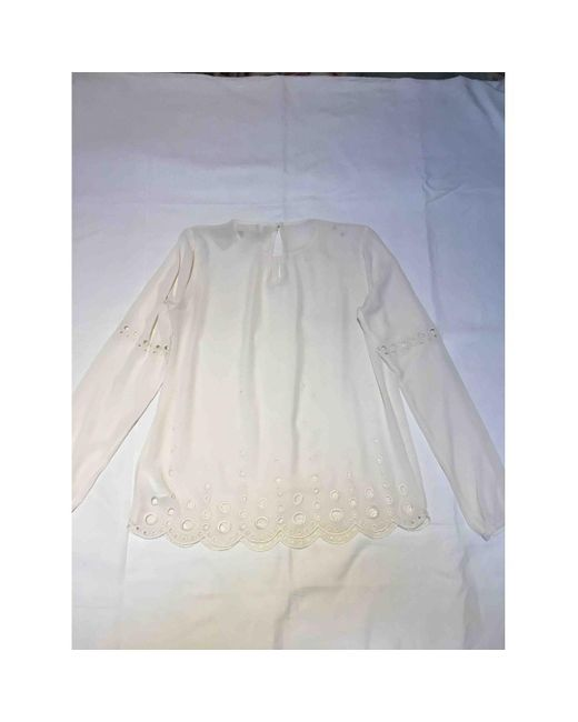 Michael Kors Camisa de mujer de color neutro 9oY7F
