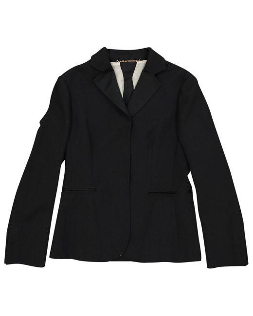 Moschino Black Wool