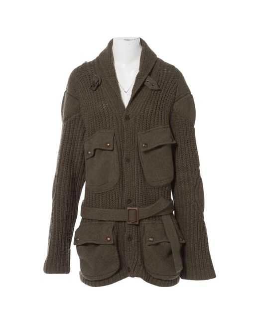 Polo Ralph Lauren Green Khaki Wool for men