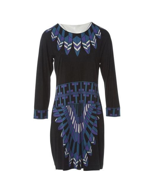 Tory Burch Black Silk Dress