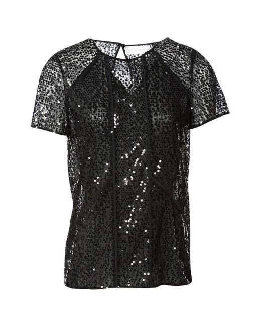 Victoria Beckham Black Polyester