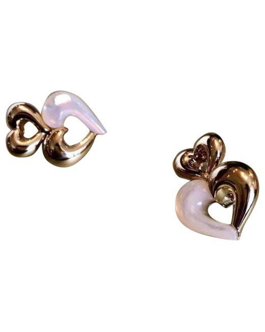 Van Cleef & Arpels - Metallic Yellow Gold Earrings - Lyst