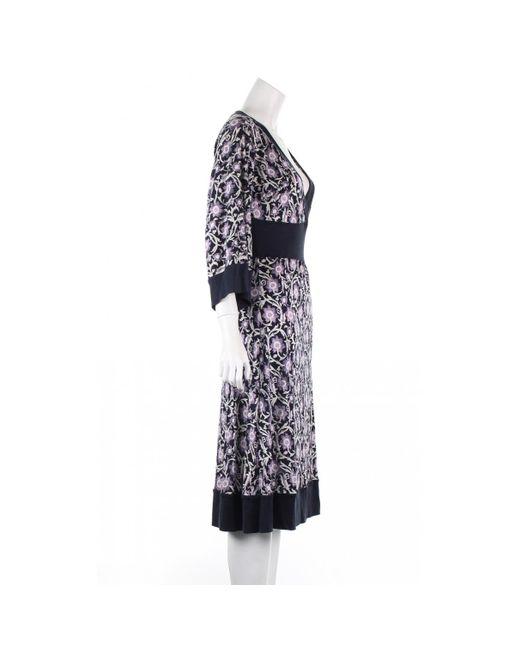 Diane von Furstenberg Multicolor Seide Kleider