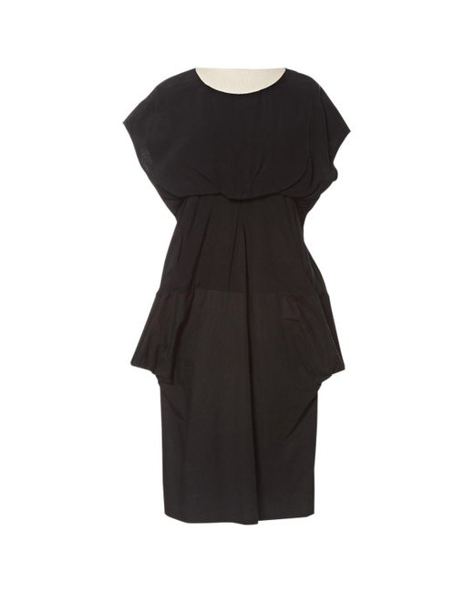 Marni Black Cotton Dress