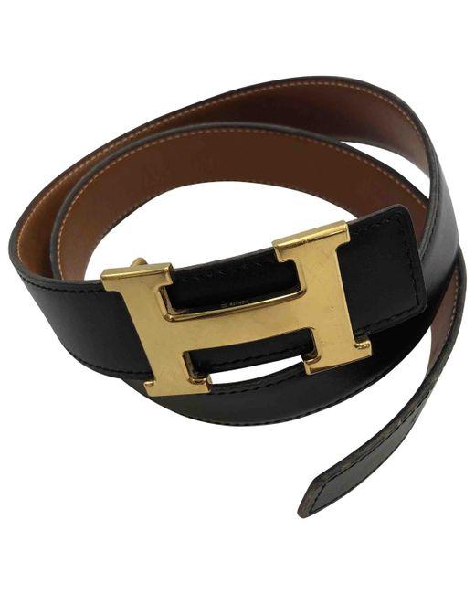 Hermès - Multicolor Vintage H Other Leather Belts - Lyst