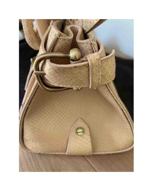 Burberry Natural Lizard Mini Bag