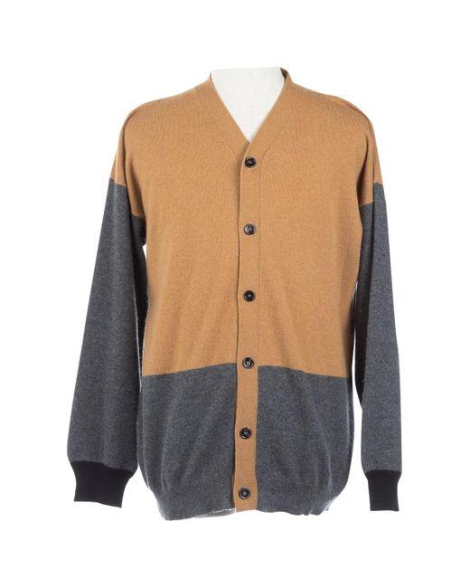 Marni Multicolor Camel Cashmere Knitwear & Sweatshirt for men