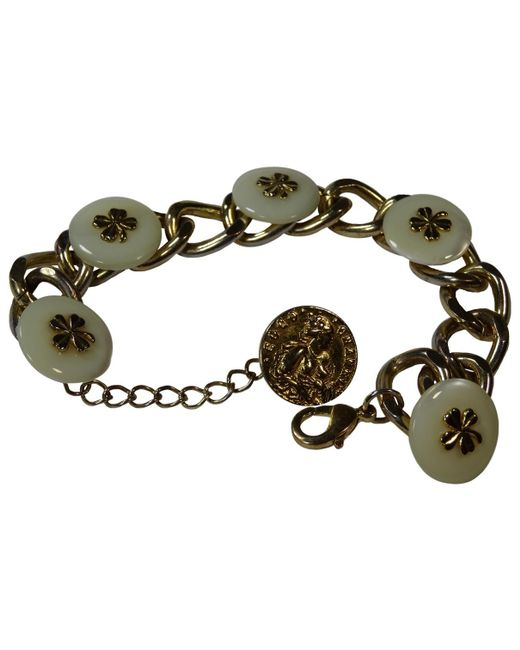 Chanel - Metallic Pre-owned Other Metal Bracelets - Lyst