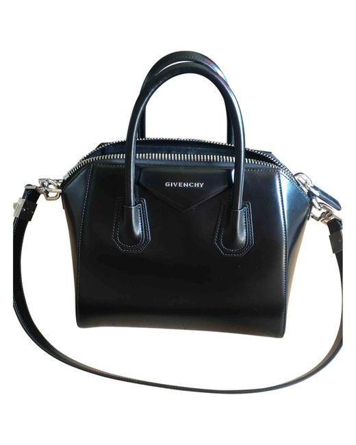 Givenchy - Black Antigona Leather Handbag - Lyst