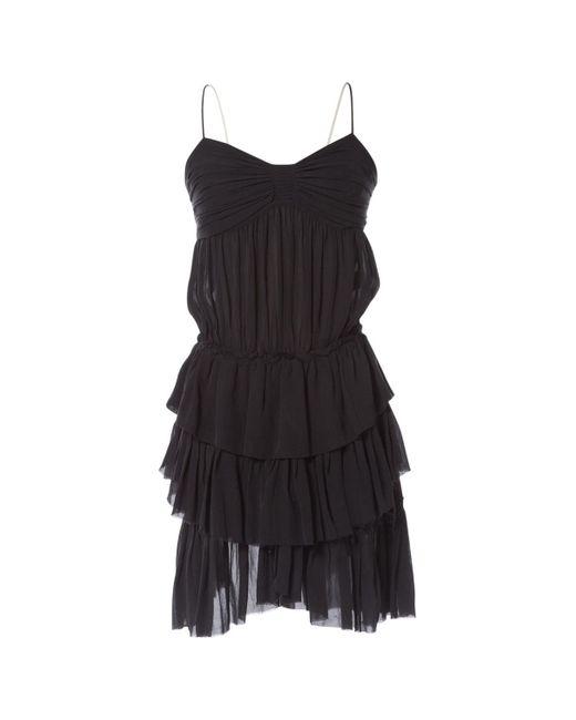 Isabel Marant Gray Grey Silk Dress