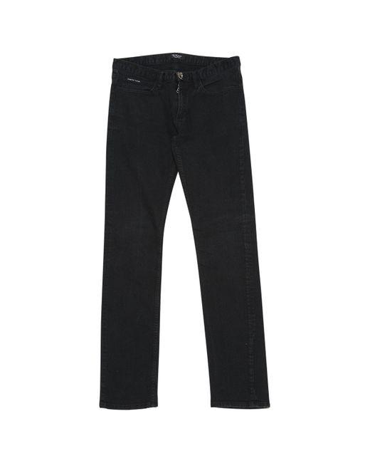 Philipp Plein Black Cotton - Elasthane for men