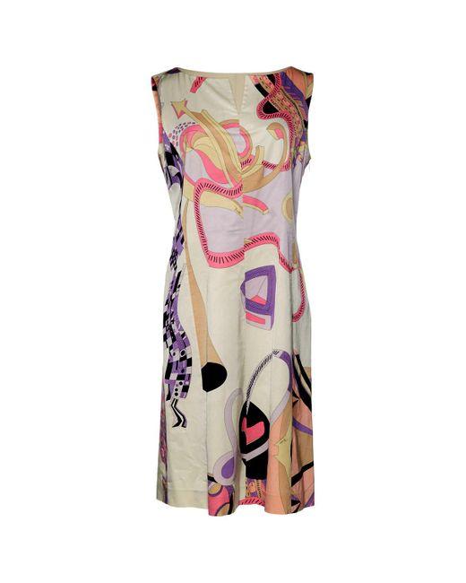 lace insert straight dress - Multicolour Emilio Pucci hLHWH