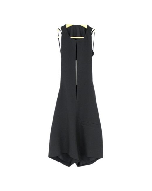 T By Alexander Wang \n Black Polyester Jumpsuits