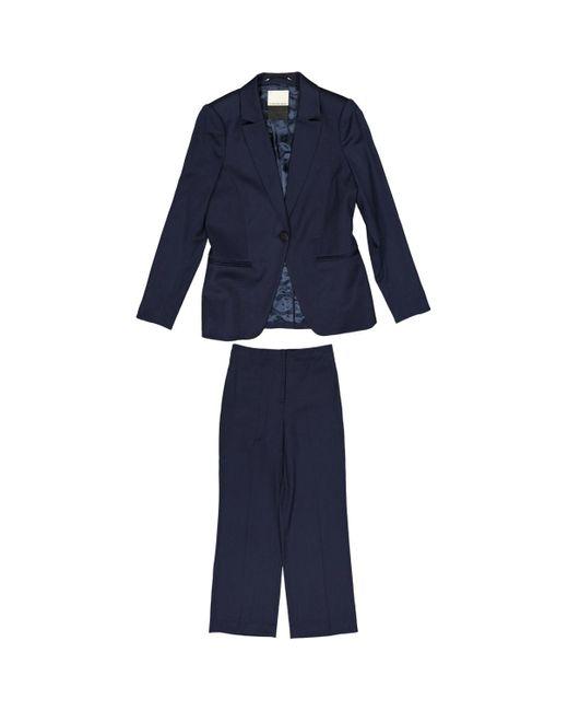 By Malene Birger Blue Navy Wool Jacket